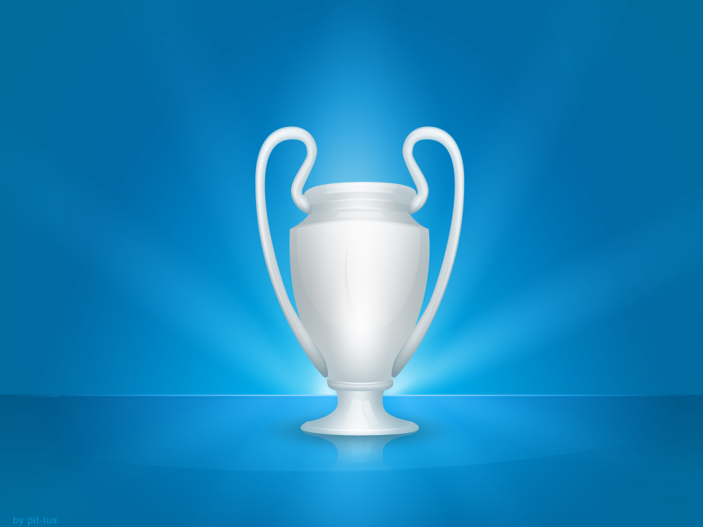 Champions League Trophy Vector uefa champions league trophy