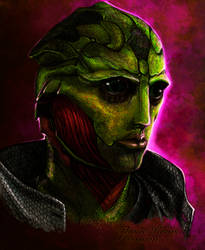 Thane Krios by Haddrian