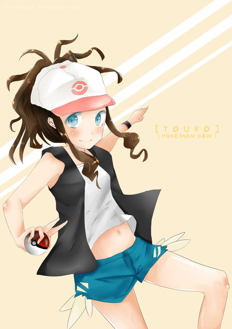 pokemon hilda hot girls wallpaper