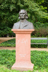 Ferenc Liszt monument in Warsaw