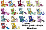 More Fillies and Colts in Hoodies