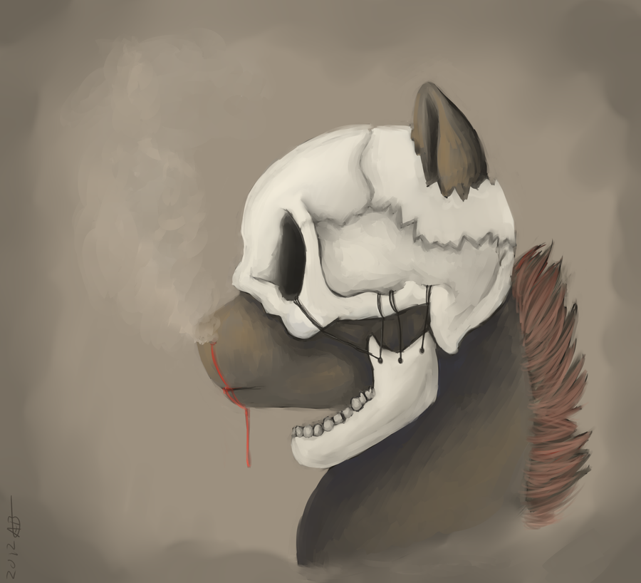 Skullcap Redux by weepysheep