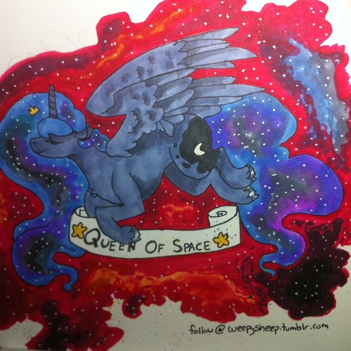 Space Queen by weepysheep