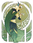 nouveau Loki by shakusaurus