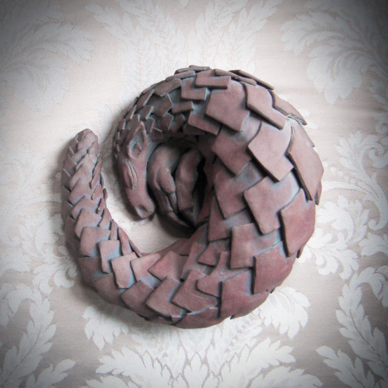 Pottery Pangolin 1 by vshjaar