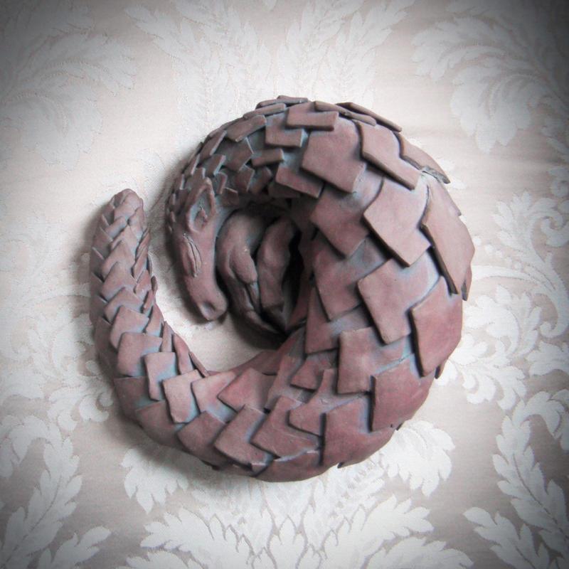 Pottery Pangolin 1 by vshjaar