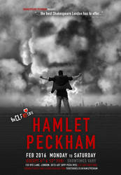 HAMLET PECKHAM Poster Mockup by vshjaar