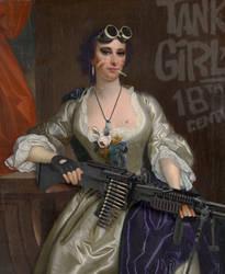 18th Century Tank Girl by vshjaar
