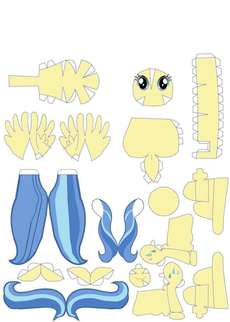 Sunshower papercraft by Grulaz on DeviantArt # Sunshower Ogen_002900
