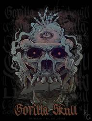 Gorilla Skull by KGArtDesign