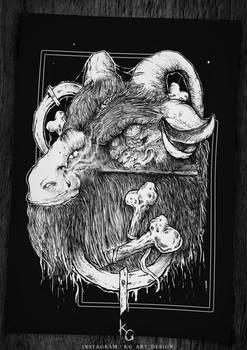 Goat - design for sale by KGArtDesign