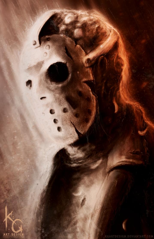 Jason Voorhees Speedpaint by KGArtDesign