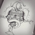 Cup of Sin - Inking