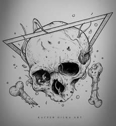 Drowning - Artwork for sale by KGArtDesign