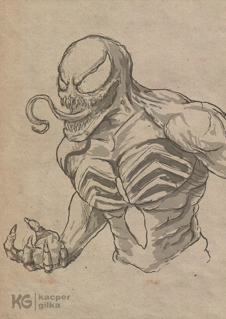 Venom sketch! by KGArtDesign