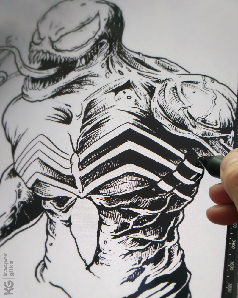 Venom WIP by KGArtDesign