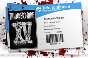 Thunderdome Tickets by deasel