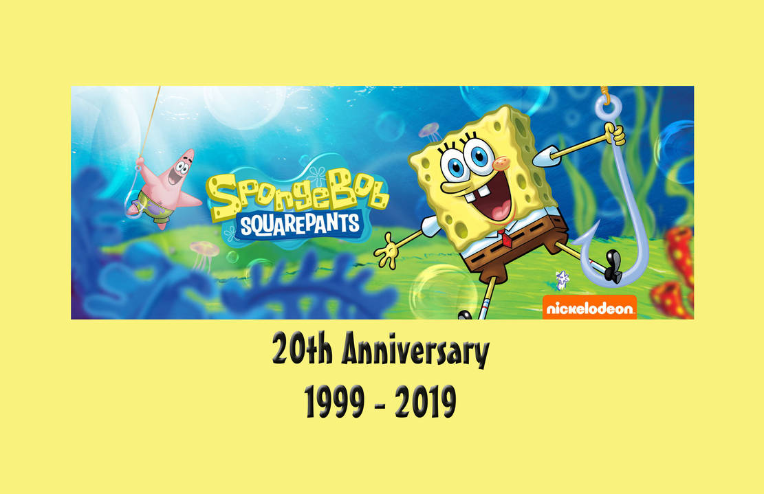 Spongebob Squarepants 20th Anniversary Poster By Perualonso On