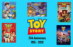 Toy Story 25th Anniversary poster