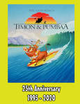 Timon and Pumbaa 25th Anniversary poster