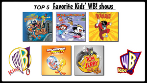 My Top 5 Favorite Kids' WB! Shows