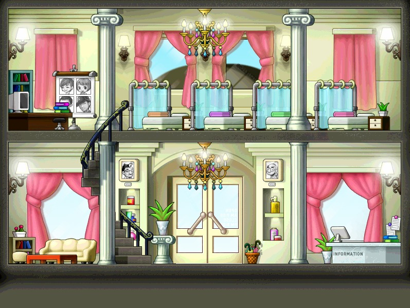 Inside The Cosmetic Shop Background By KpoperMaper