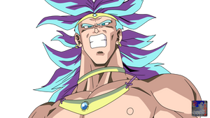 Broly .:Lineart41:. Color
