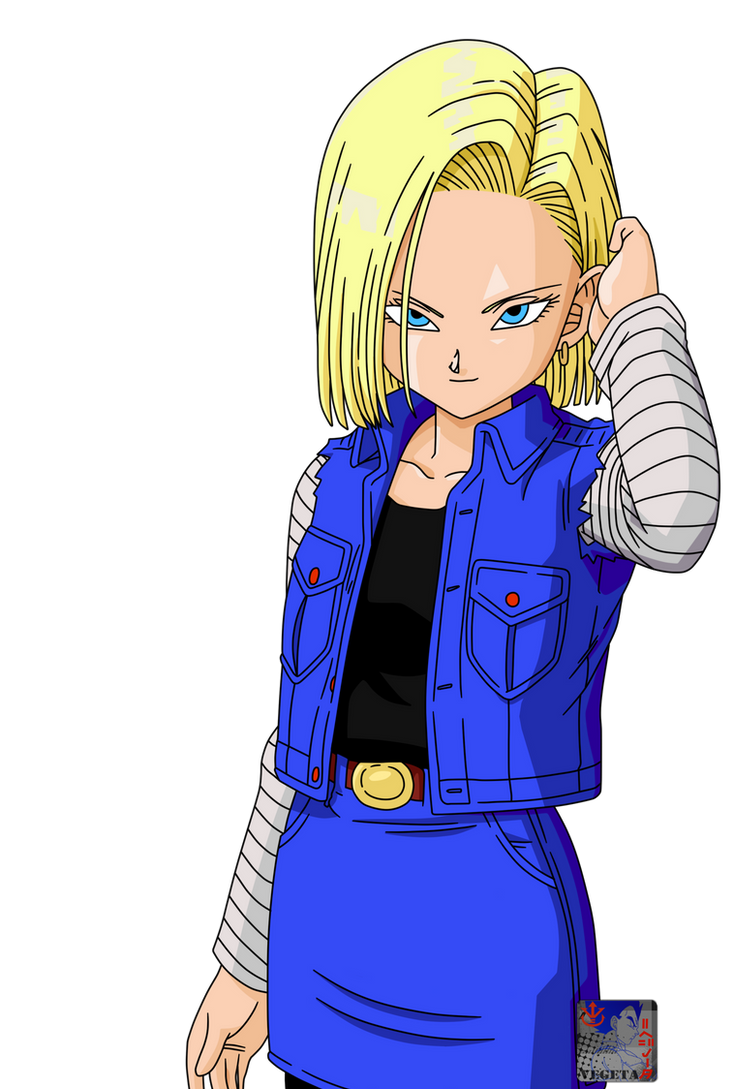 C18 lineart42 color by prinzvegeta on deviantart - Dragon ball z c18 ...