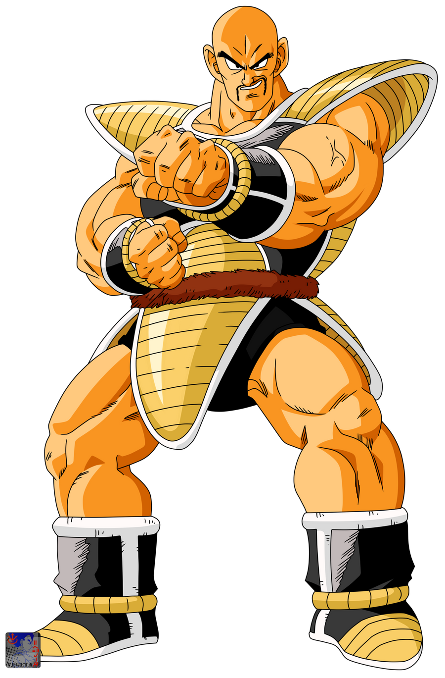 Nappa .:Lineart50:. Color by PrinzVegeta