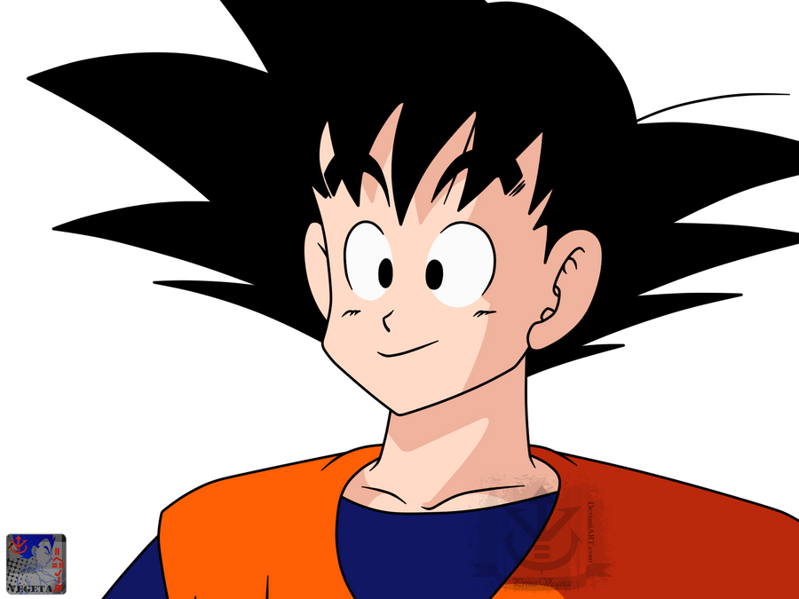 Kakarott .:Lineart 74:. Color by PrinzVegeta