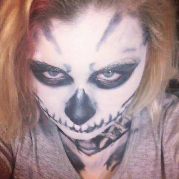 Skeleton makeup # 5 by ShikabaneHime88