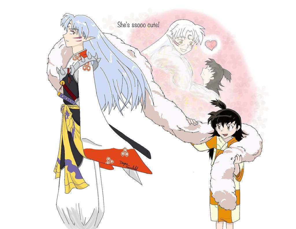 Sesshomaru And Rin Mate Sesshomaru's hidden heart by
