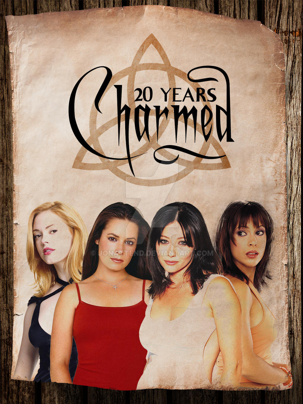 Charmed - 20 Years Poster by Jonattend