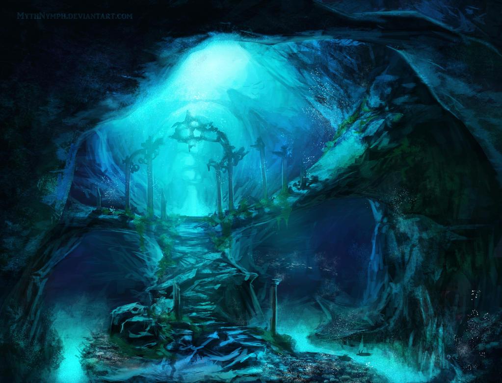 Recuerdos perdidos del Kraken  Underwater_ruins_by_mythnymph-d4uha0j