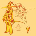 Striker doodles