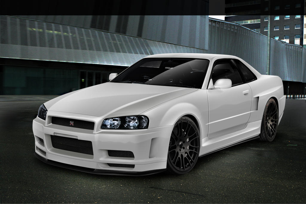 nissan skyline gt r r34 by nexert on deviantart. Black Bedroom Furniture Sets. Home Design Ideas