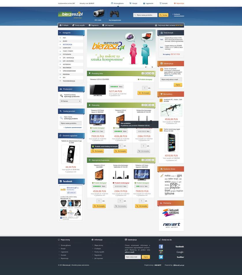 Internet shop layout - final by Nexert
