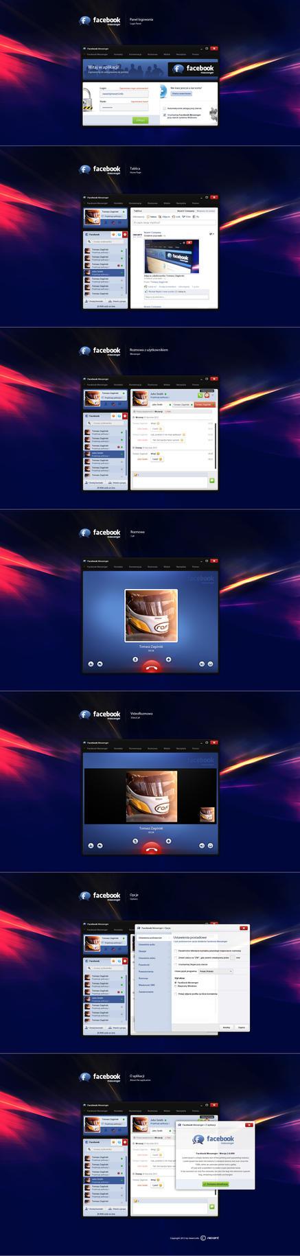 Unofficial Facebook Messenger - final by Nexert