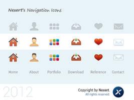 Nexert's Navigation Icons by Nexert
