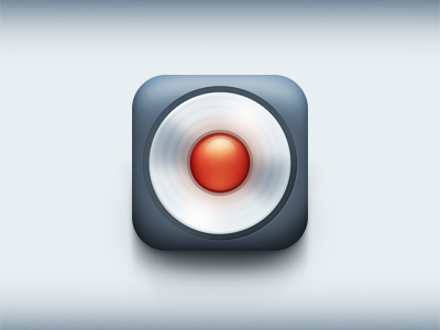 Record iOS icon by Nexert