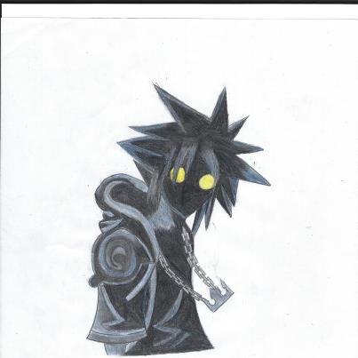 Coloured Anti-Sora by EntertheDarkness572