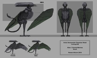 Avian Xenomorph