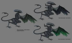 Avian Xenomorph Variants