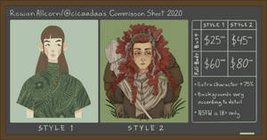 2020 Commission Sheet (CLOSED)