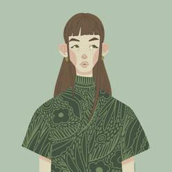 Stylized Portrait 01-2020