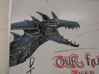 Oh look, He's on the Whiteboard now. by AMclaren12CandR8V10