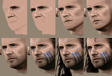 braveheart WIP by MaayanCohen