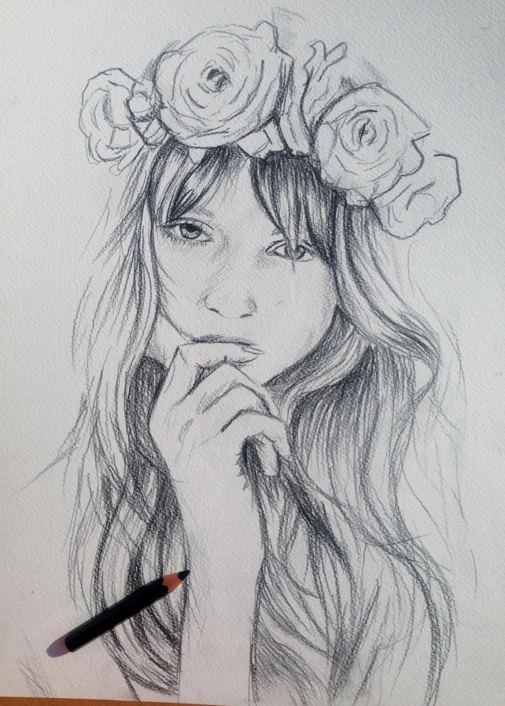 Floral _Crown by justcallmemike on DeviantArt
