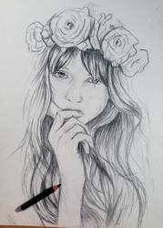 Floral _Crown by justcallmemike
