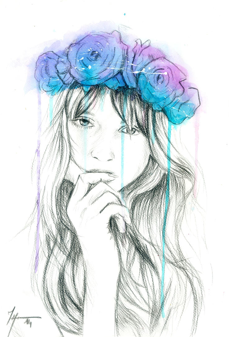 Floral_Crown ~ Colored by justcallmemike